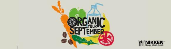 Organic September blog heading
